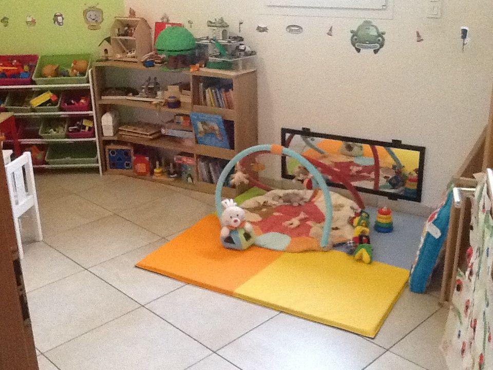 Espace adapté suivant l'age des enfants.