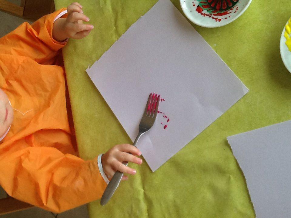 """Peinture """"printanière"""" 🌹🌸🌷"""