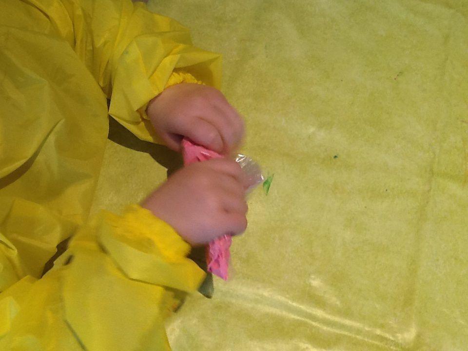peinture des batonnets ( technique de la peinture propre)