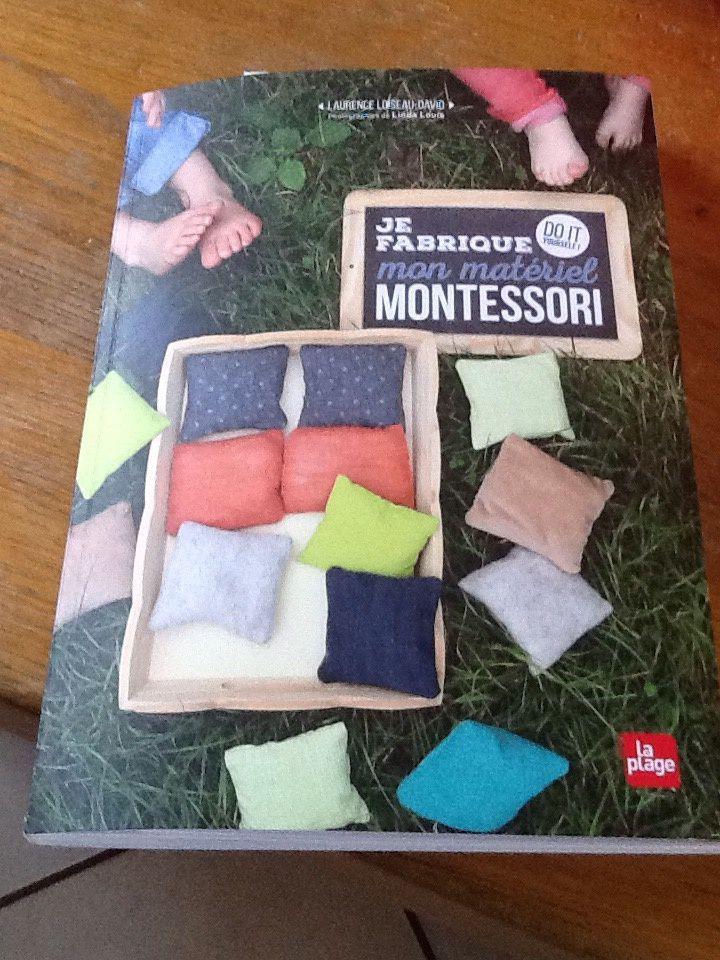 """J'ai gagné """"je fabrique mon matériel Montessori """" 😉🍀"""