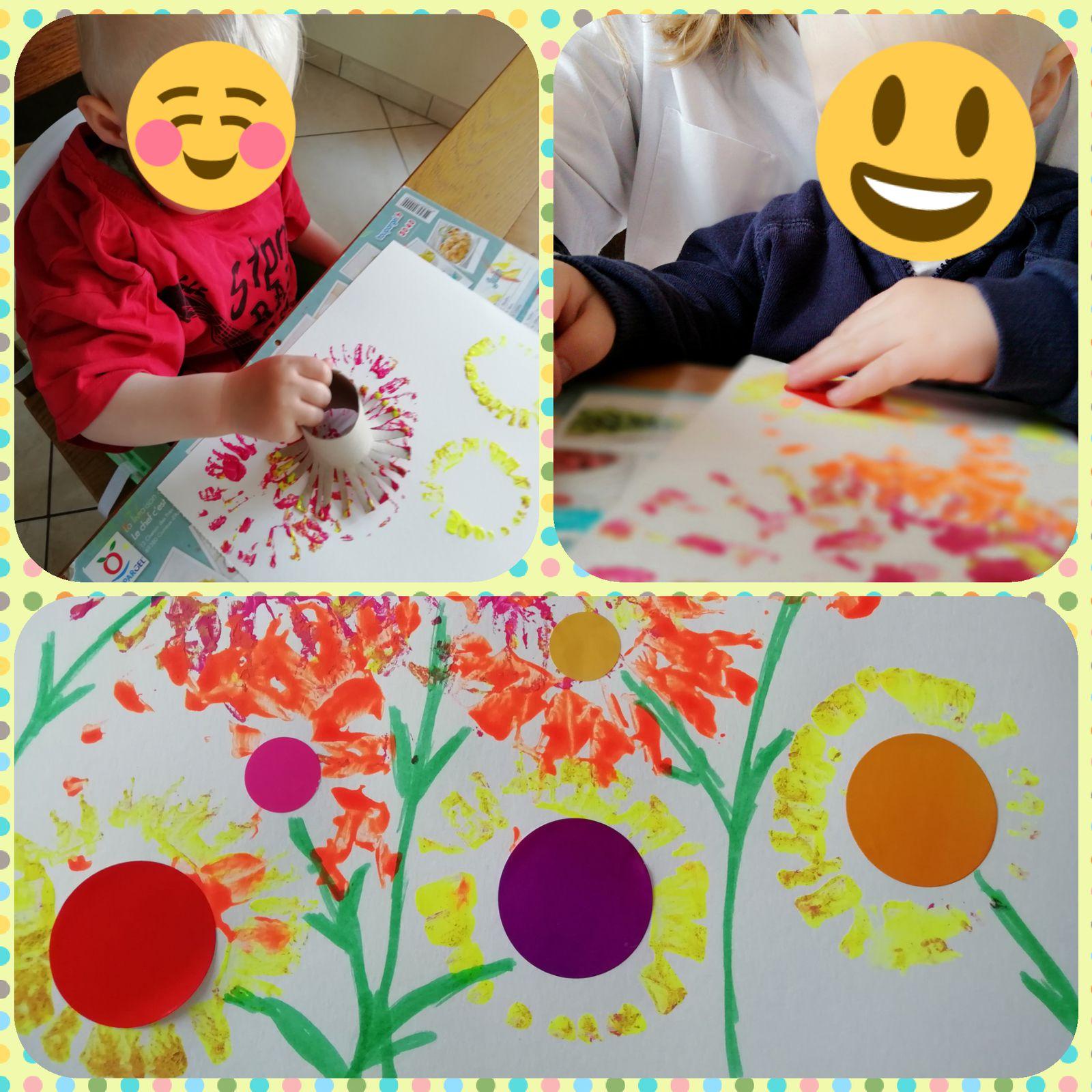 Peinture printaniere 🌺