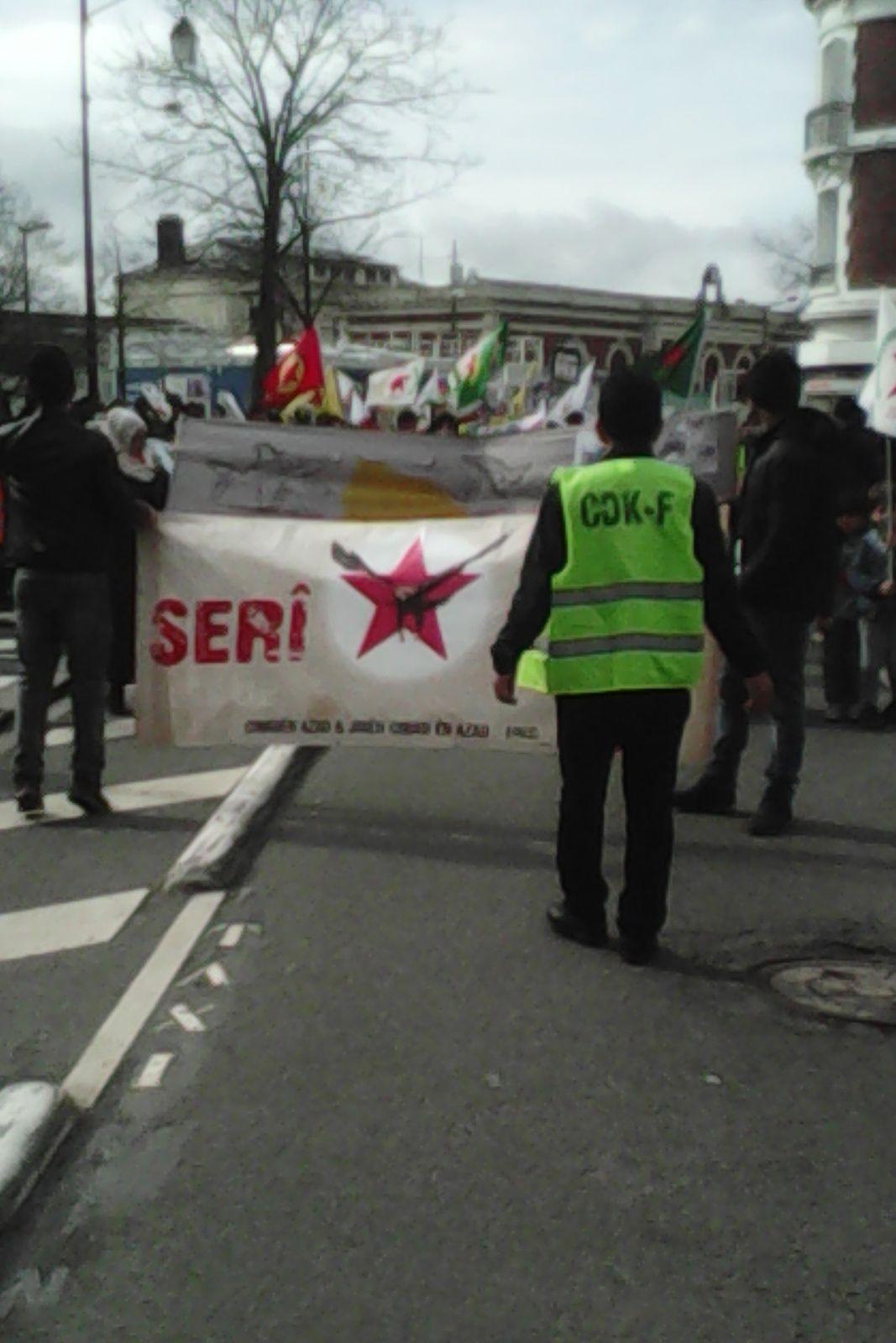 Mantes-la-Jolie. Solidarité avec AFRIN contre l'intervention armée du gouvernement turc