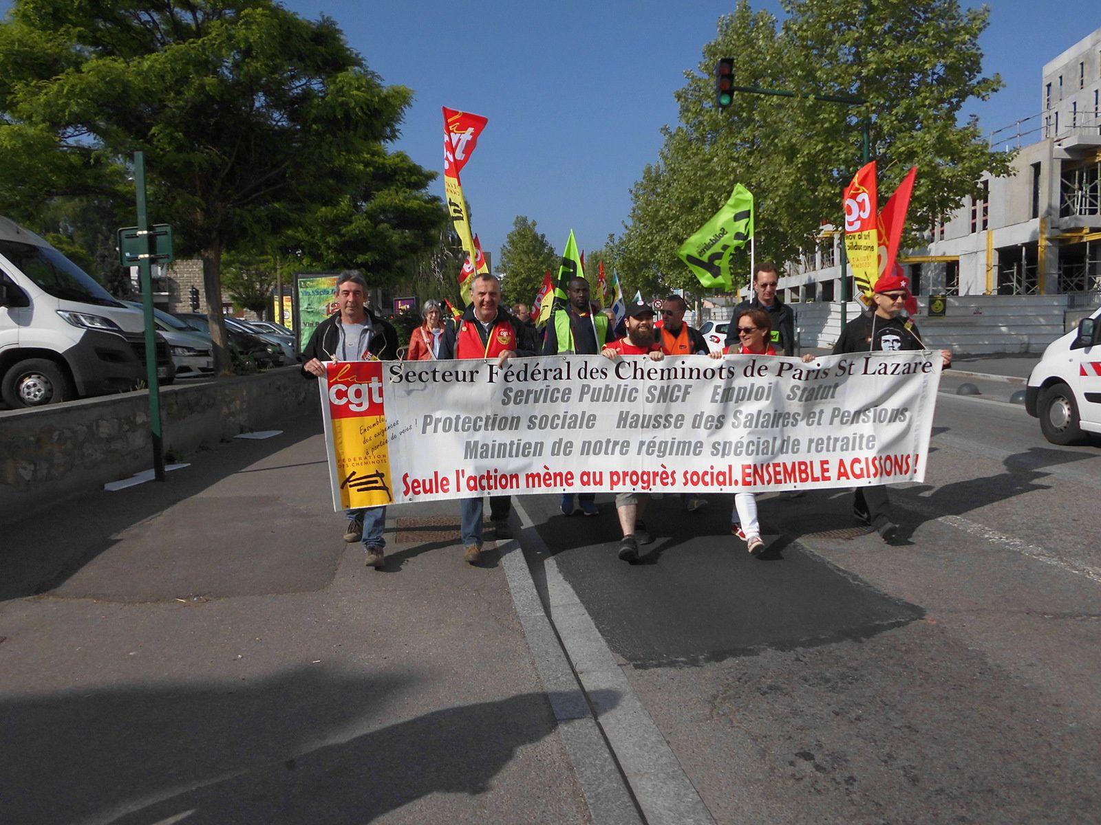 Mantes-la-Jolie. Hier, les cheminots informent la population, mardi nouvelle manifestation locale