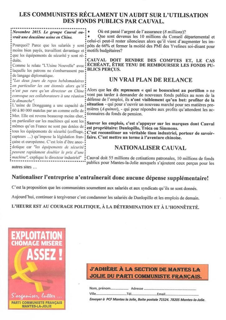 Dunlopillo-Mantes. NON AUX 61 LICENCIEMENTS