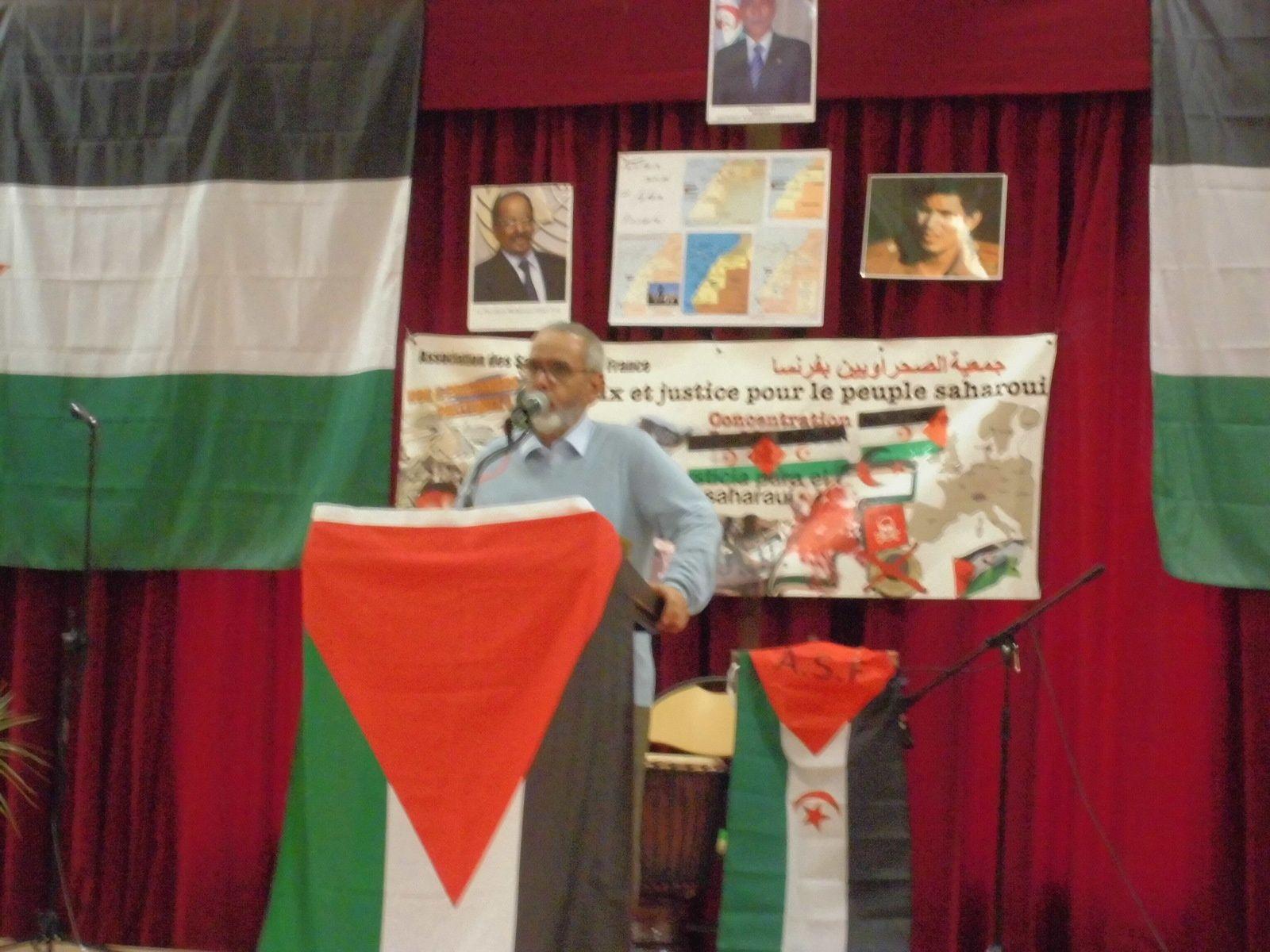Les Mureaux. 43° anniversaire de la proclamation de la République Sahraouie