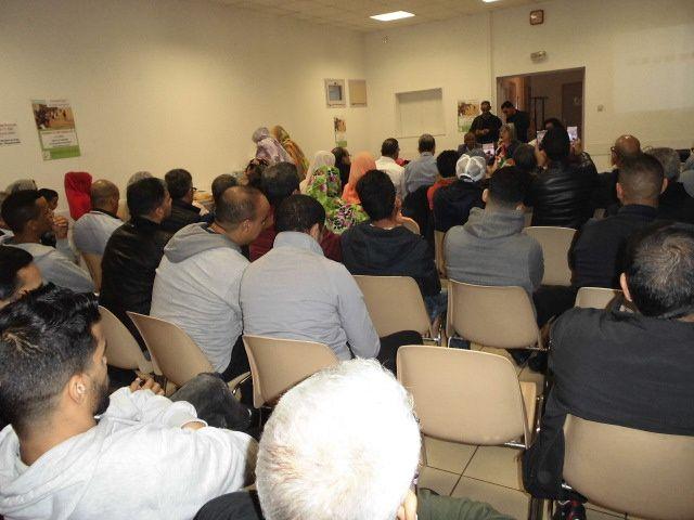 Mantes-la-Jolie. Sahraouis. 100 personnes pour s'informer et pour le droit des peuples à disposer d'eux-mêmes.
