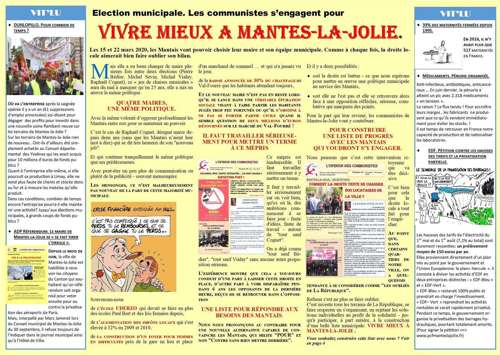 ADP Réferendum. Le maire de Mantes-la-Jolie se «fait tirer l'oreille».