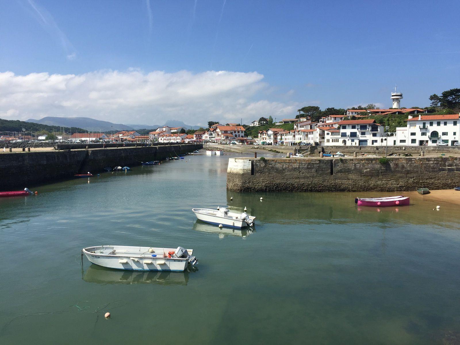 port de Socoa pays basque