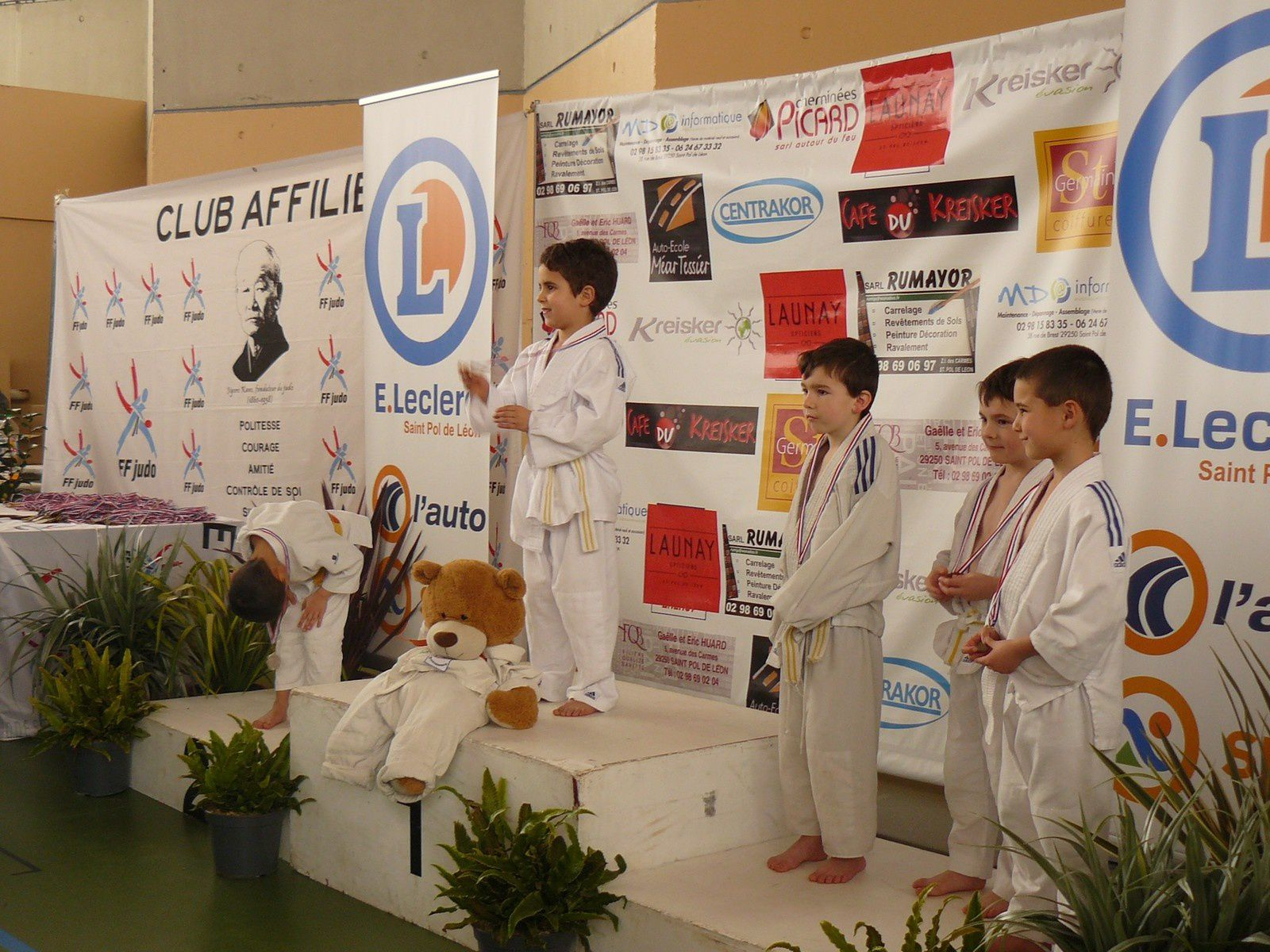 Photos de l'interclubs de St Pol