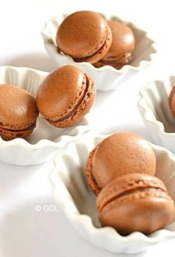 Macarons noisettes, pâte à tartiner