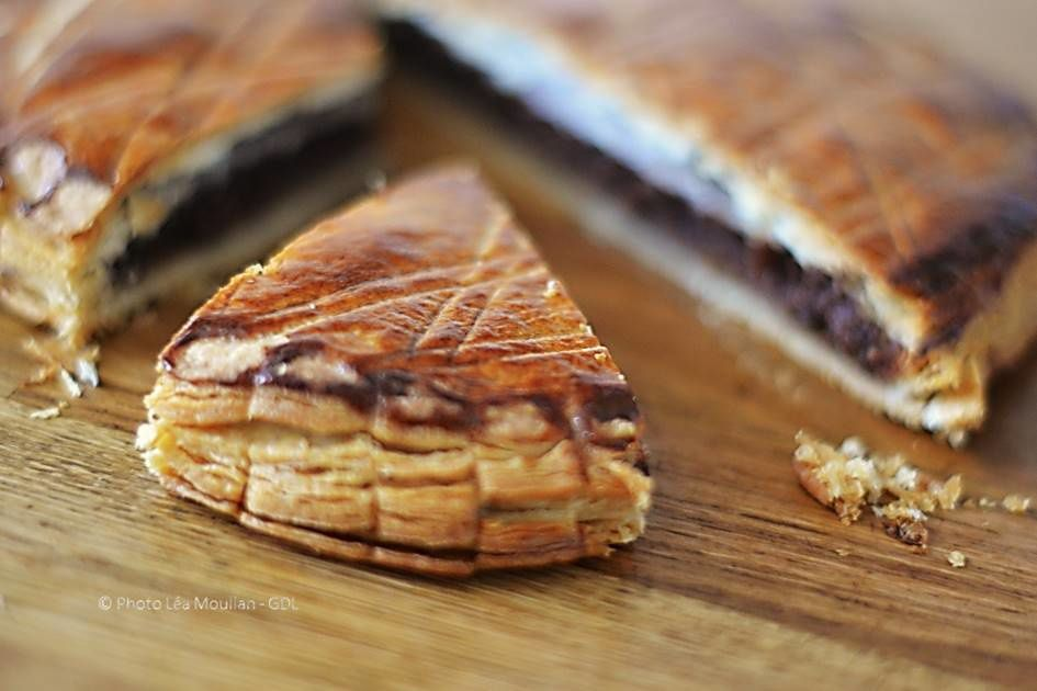 Galette des rois chocolat et crème de marrons