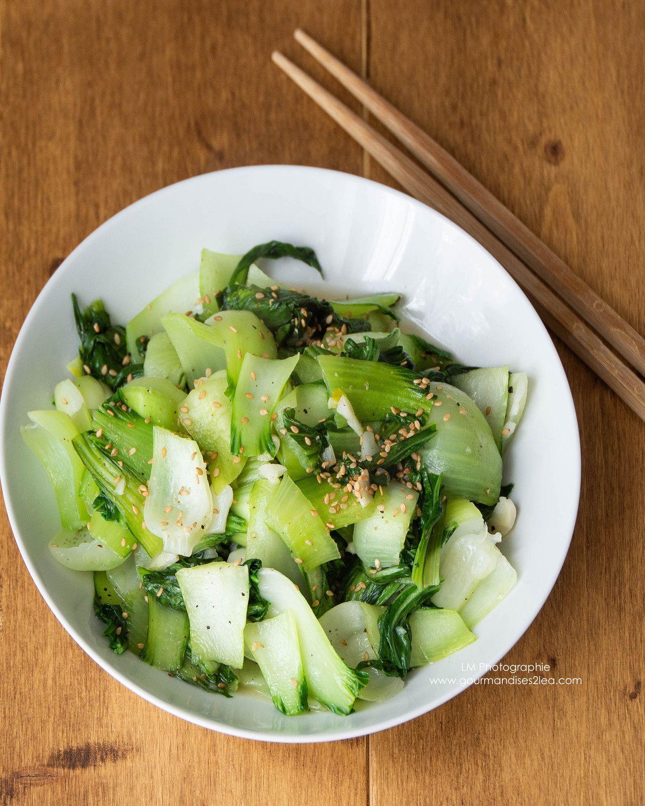 Je cuisine avec 4 ingrédients : Pak choï à l'asiatique