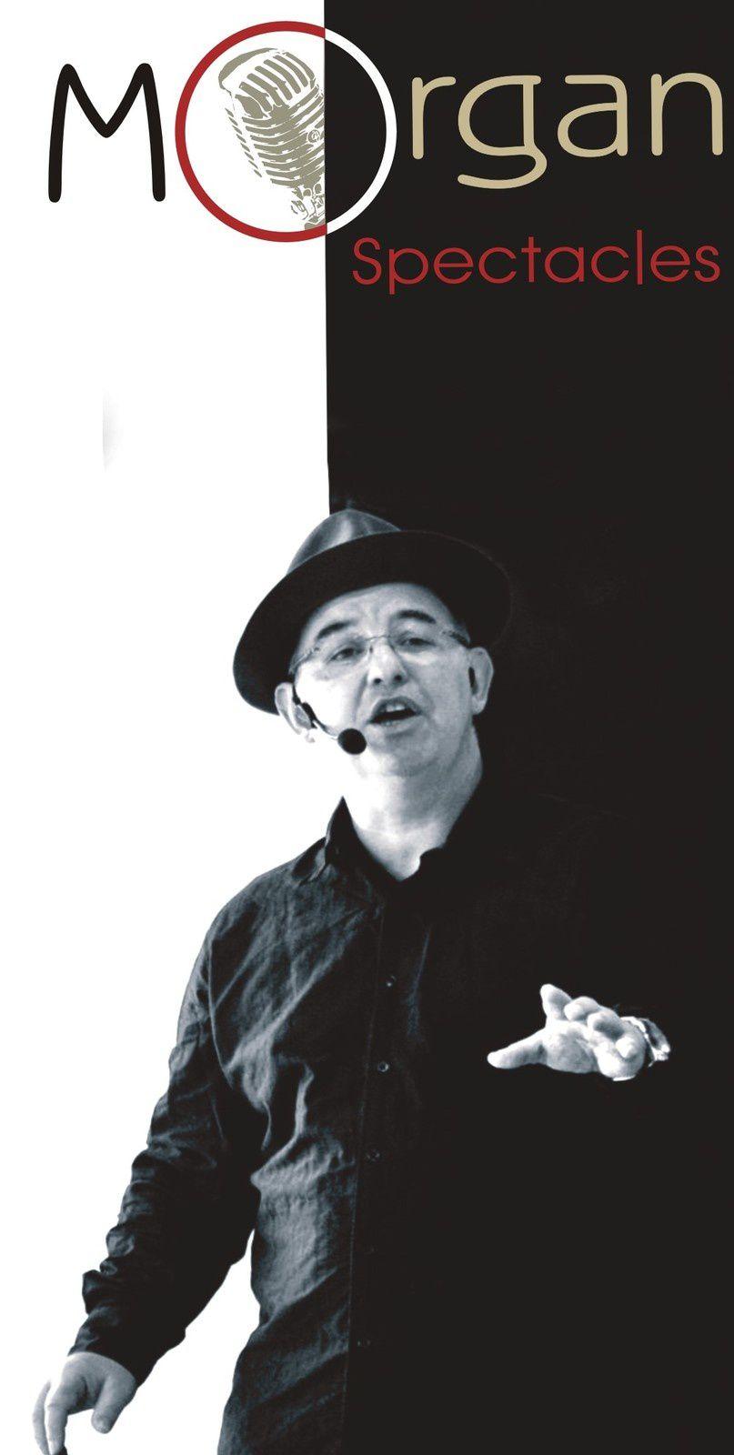 """Morgan humoriste chanteur et imitateur avec """"Les Fauxsemblants"""""""