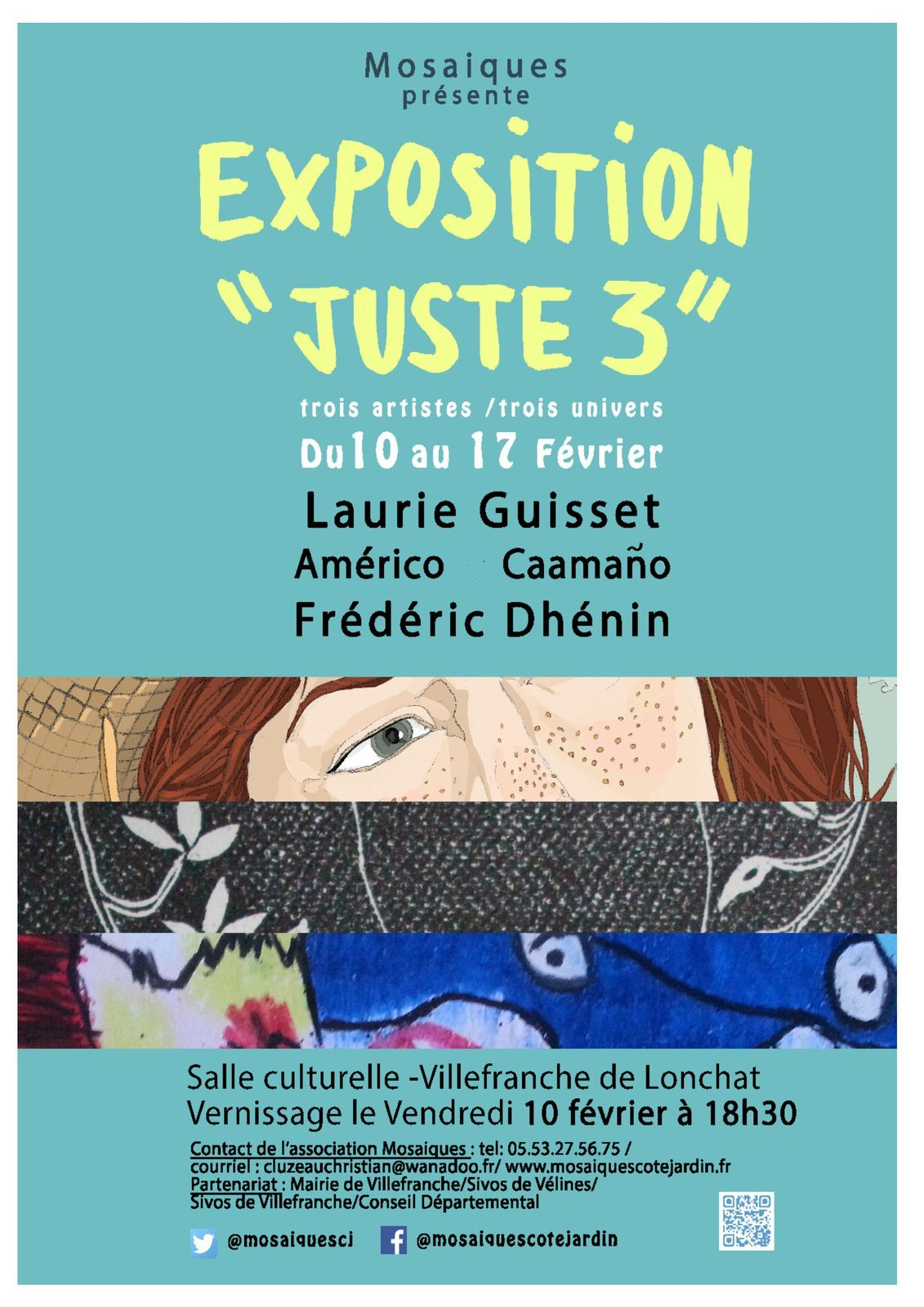 conception affiche Laurie Guisset