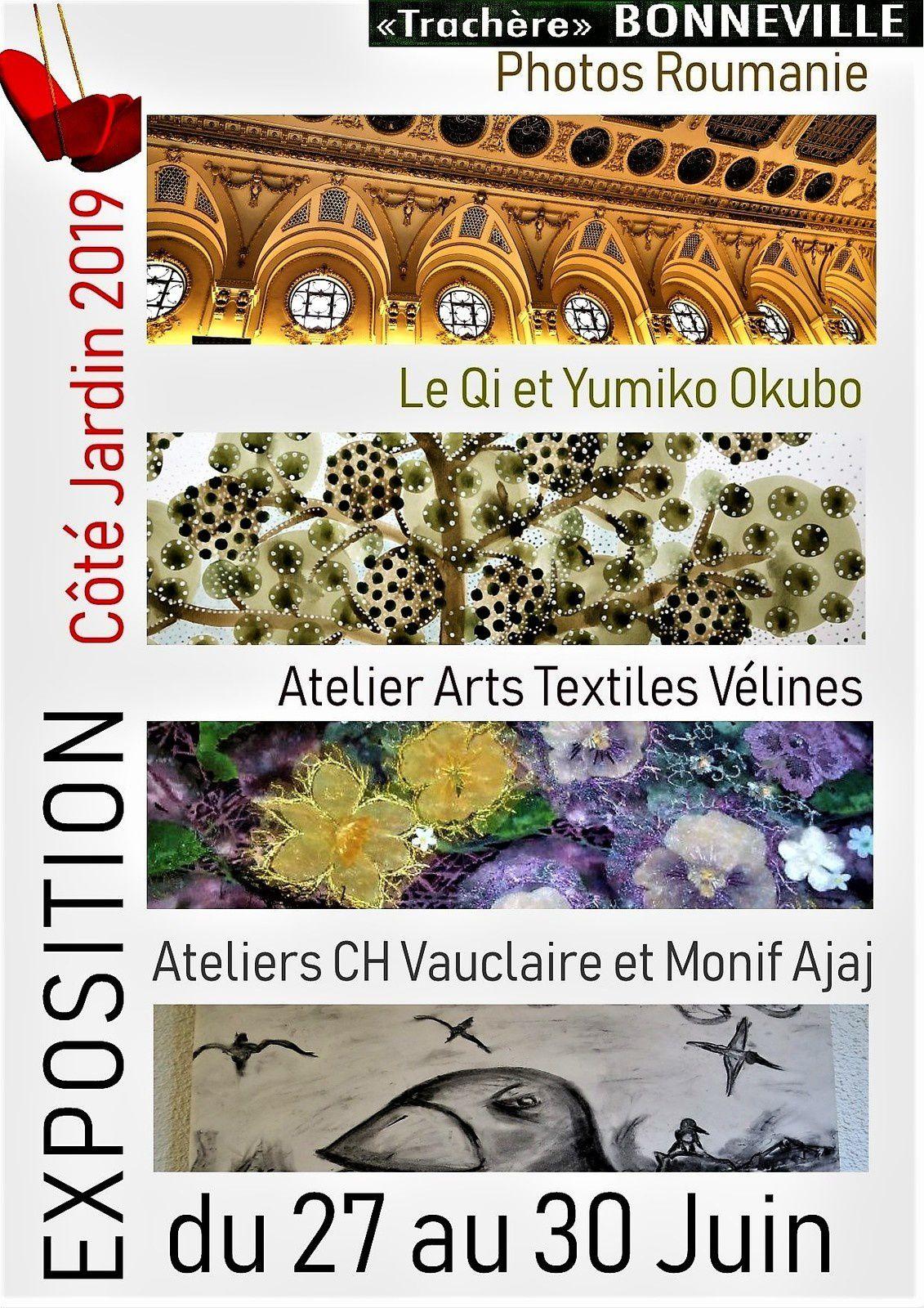 Les Affiches du Festival Côté Jardin 2019