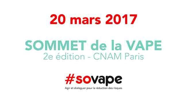 Point des participations à quelques jours du 2e Sommet de la Vape 2017