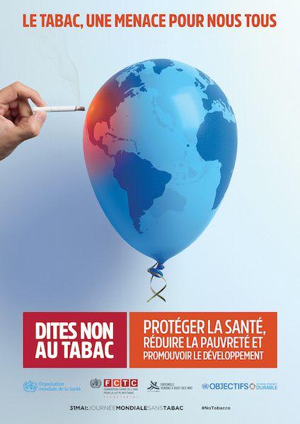 Mobilisation sans conviction pour la journée mondiale sans Tabac 2017