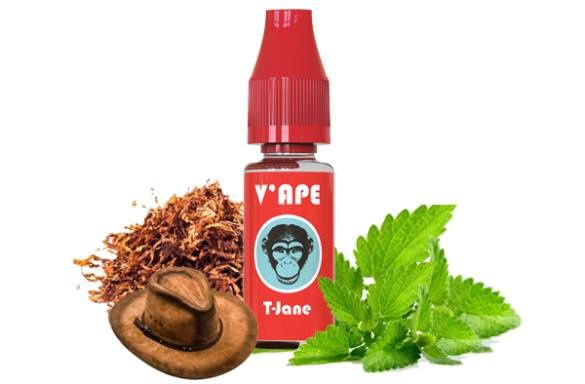 Test - Eliquide - T'Jane de chez V'ape Red