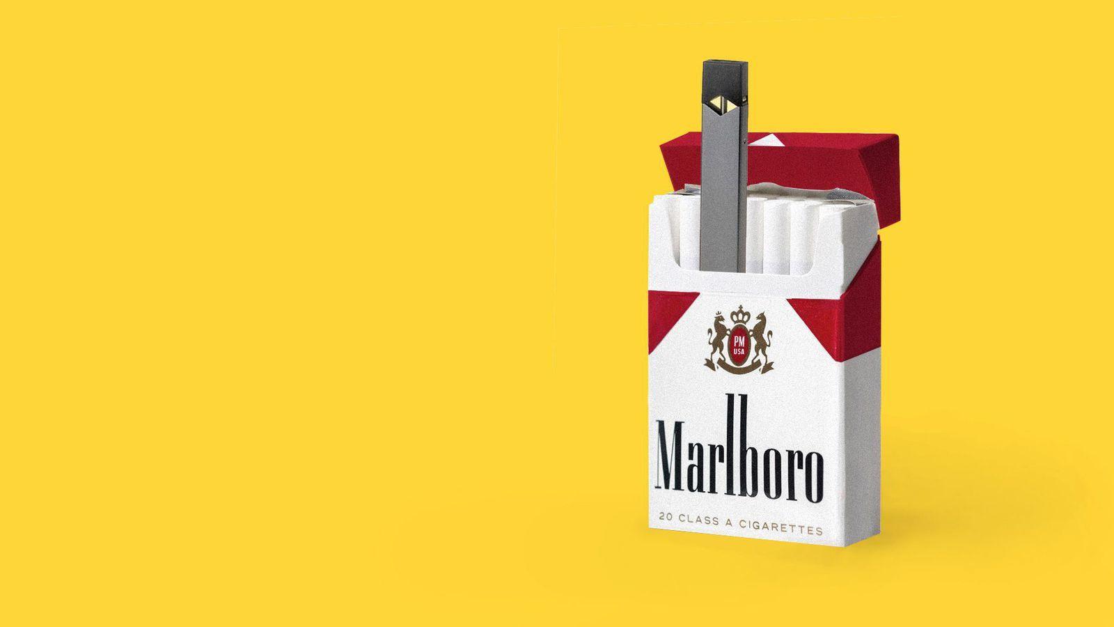 Altria (Marlboro) va prendre 35% dans Juul
