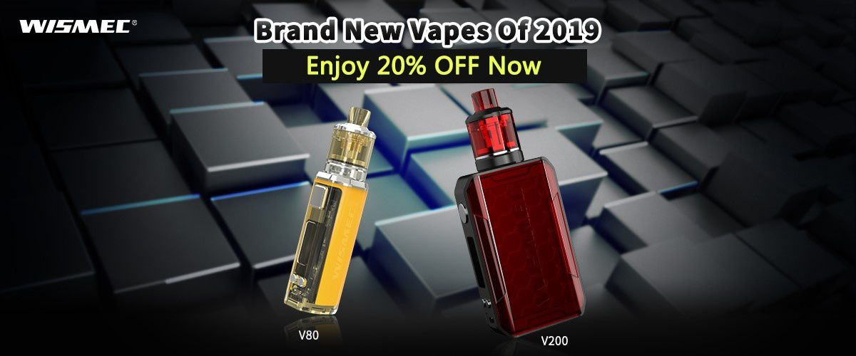 Vape batch - Box Sinuous V80 & V200 de chez Wismec