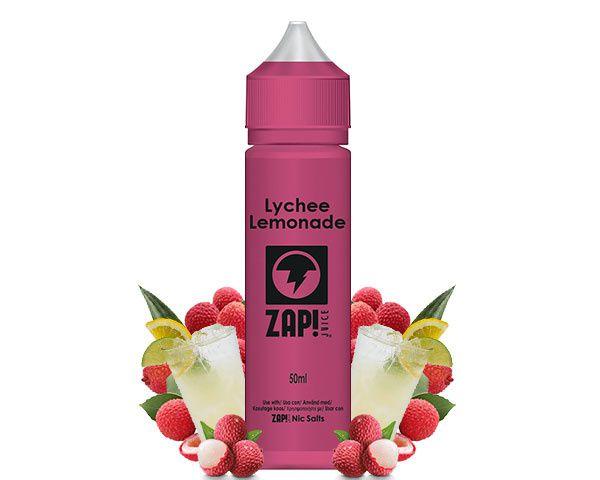 Test - Eliquide - Lychee Lemonade de chez Zap Juice