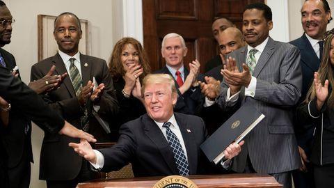 Donald Trump a animé un dialogue sur la vape