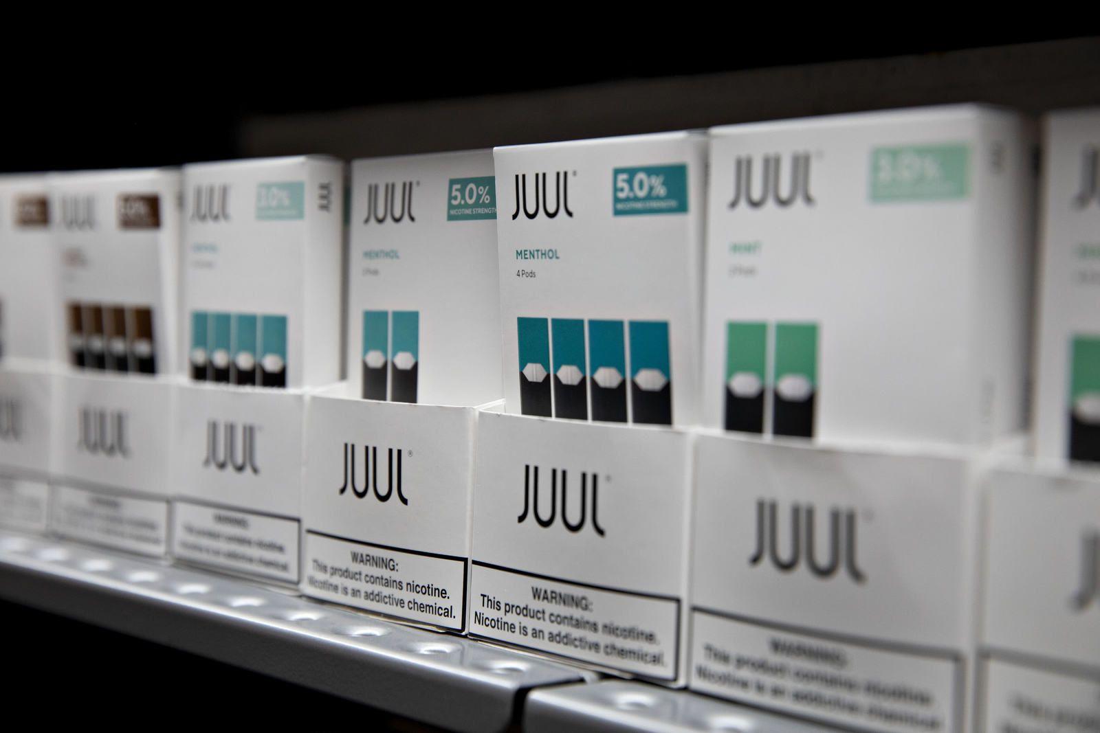 Le gouvernement de Trump souhaite interdire les cartouches de cigarettes électroniques aromatisées, sauf pour le menthol et le tabac