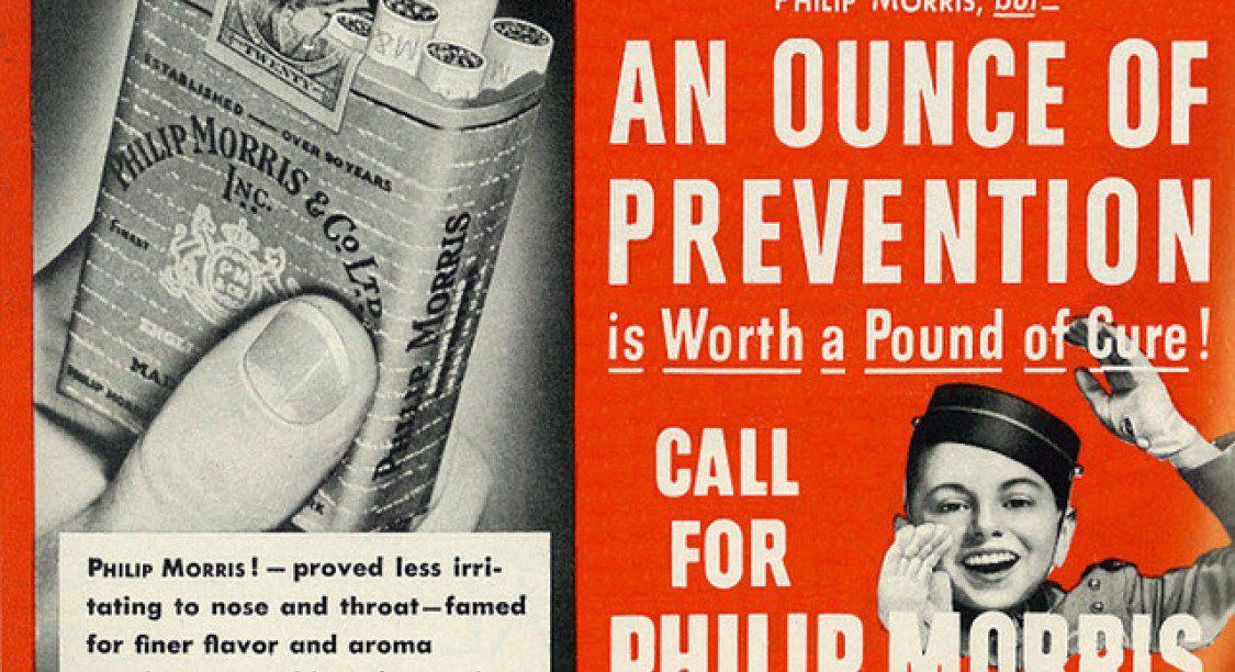 Drôle d'interview avec le patron de Philip Morris