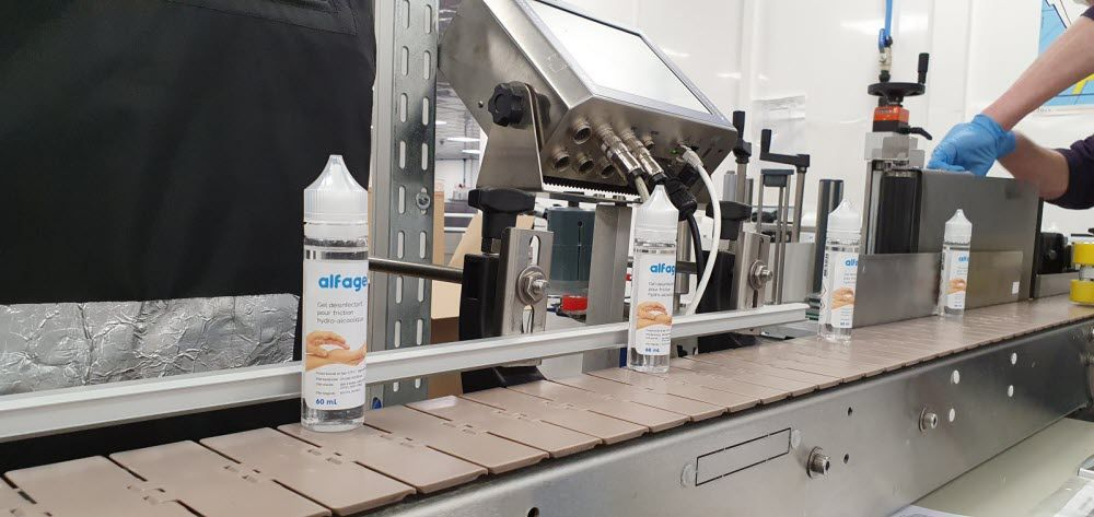 Gaïatrend produit du gel hydroalcoolique pour répondre à la demande