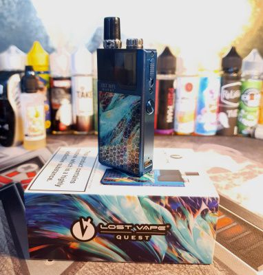 Test - Pod - Orion Q de chez Lost Vape