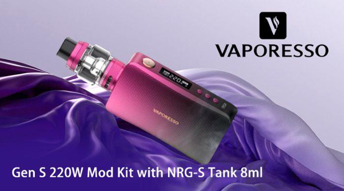 Test - Box - Clearomiseur - Kit box Gen S et NRG-S de chez Vaporesso