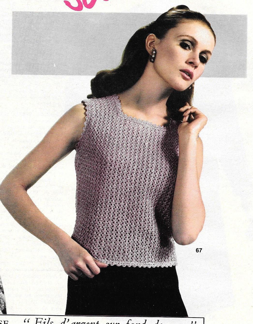 Top tricoté femmes tailles 38 à 44