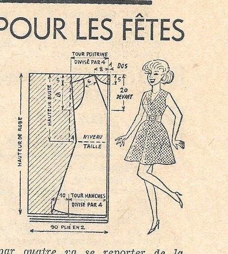 patron robe sixties