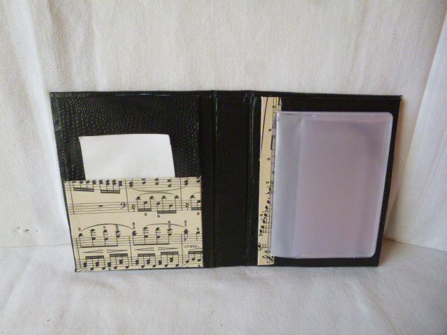 porte carte fidélité en cartonnage
