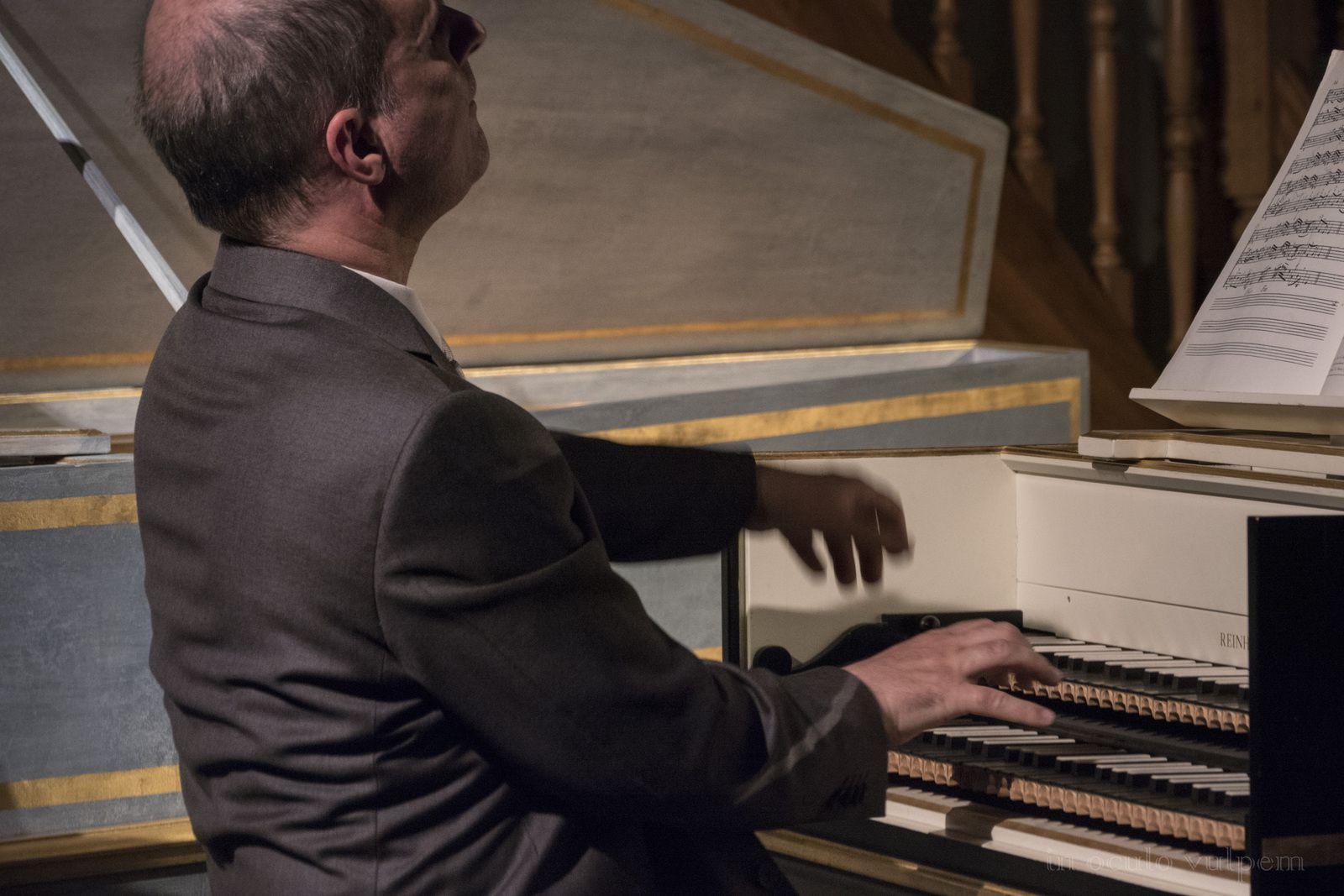 Les Promenades Musicales du Pays d'Auge. Béatrice Martin et Olivier Baumont, Emmanuel Pleintel récitant. Château de Canon, 25/07/2018