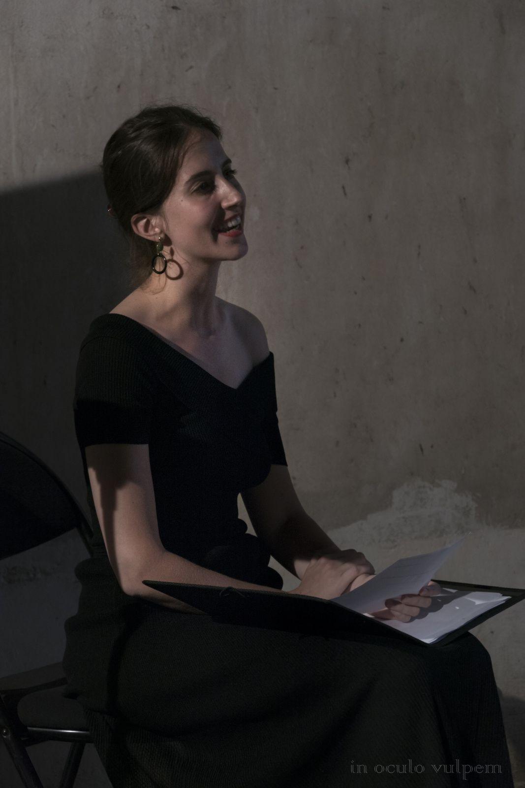 Les Promenades Musicales du Pays d'Auge. Jeanne Zaepffel, soprano et Léa Masson, théorbe et guitare. Château de Cesny-aux-vignes, 27/07/2018.
