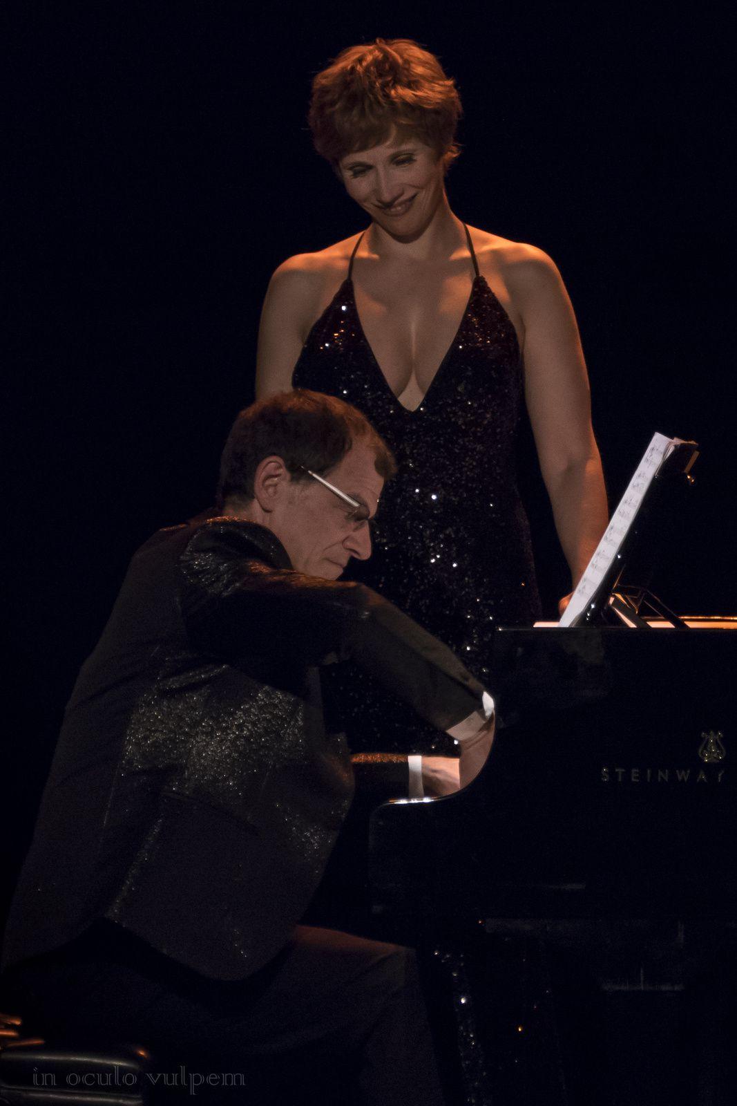 Les Promenades musicales du Pays d'Auge. Isabelle Georges, chant; Jeff Cohen, piano. La Sall'in, Cabourg, 01/08/2018.