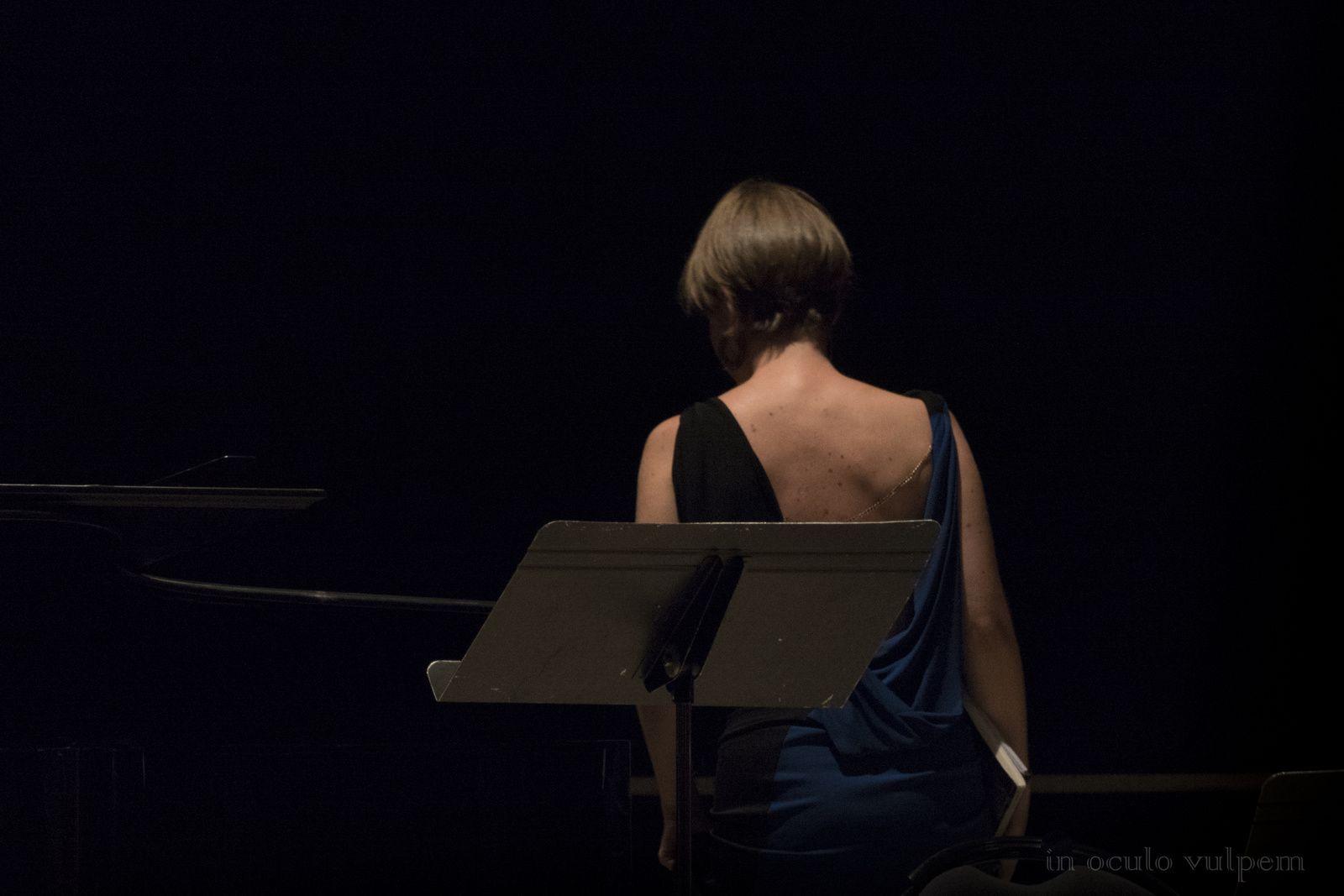 Les Promenades musicales du Pays d'Auge. Solistes de l'Orchestre Les Siècles : Jenny Daviet, soprano. Centre culturel d'Orbec, 11/08/2018.