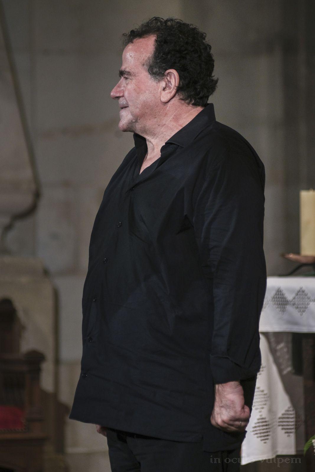 Les Promenades Musicales du Pays d'Auge. Richard Galliano, accordéon. Abbatiale de Saint Pierre sur Dives, 24/07/2019.