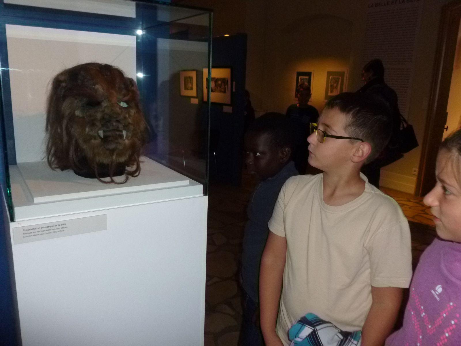 Les CM1 en visite au musée