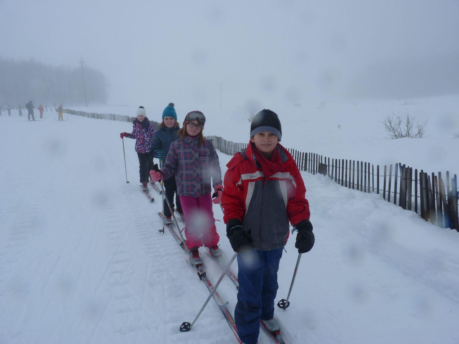 Ski de fond au col de Bonnecombe