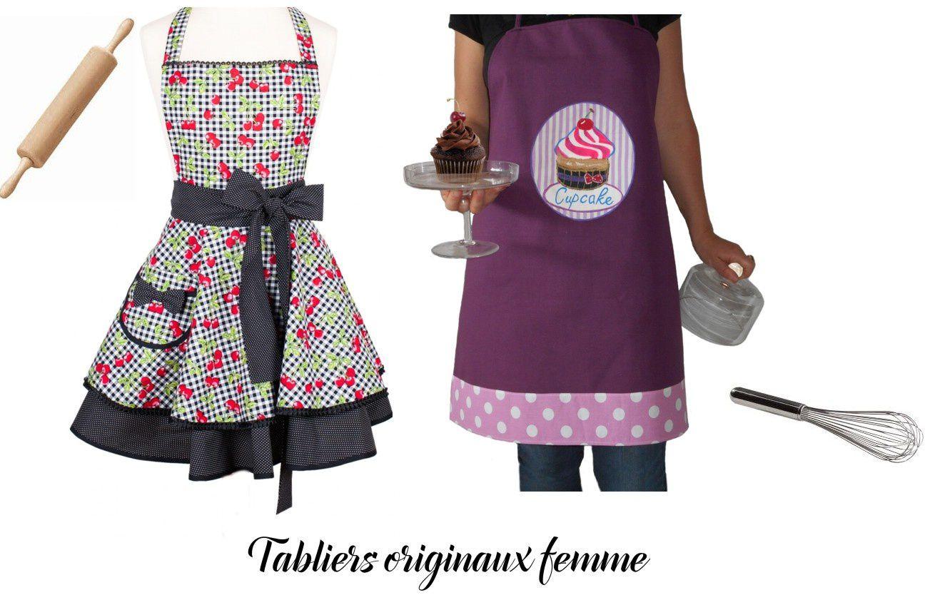 Tablier Femme Original Le Blog De Cuisine Qui Petille