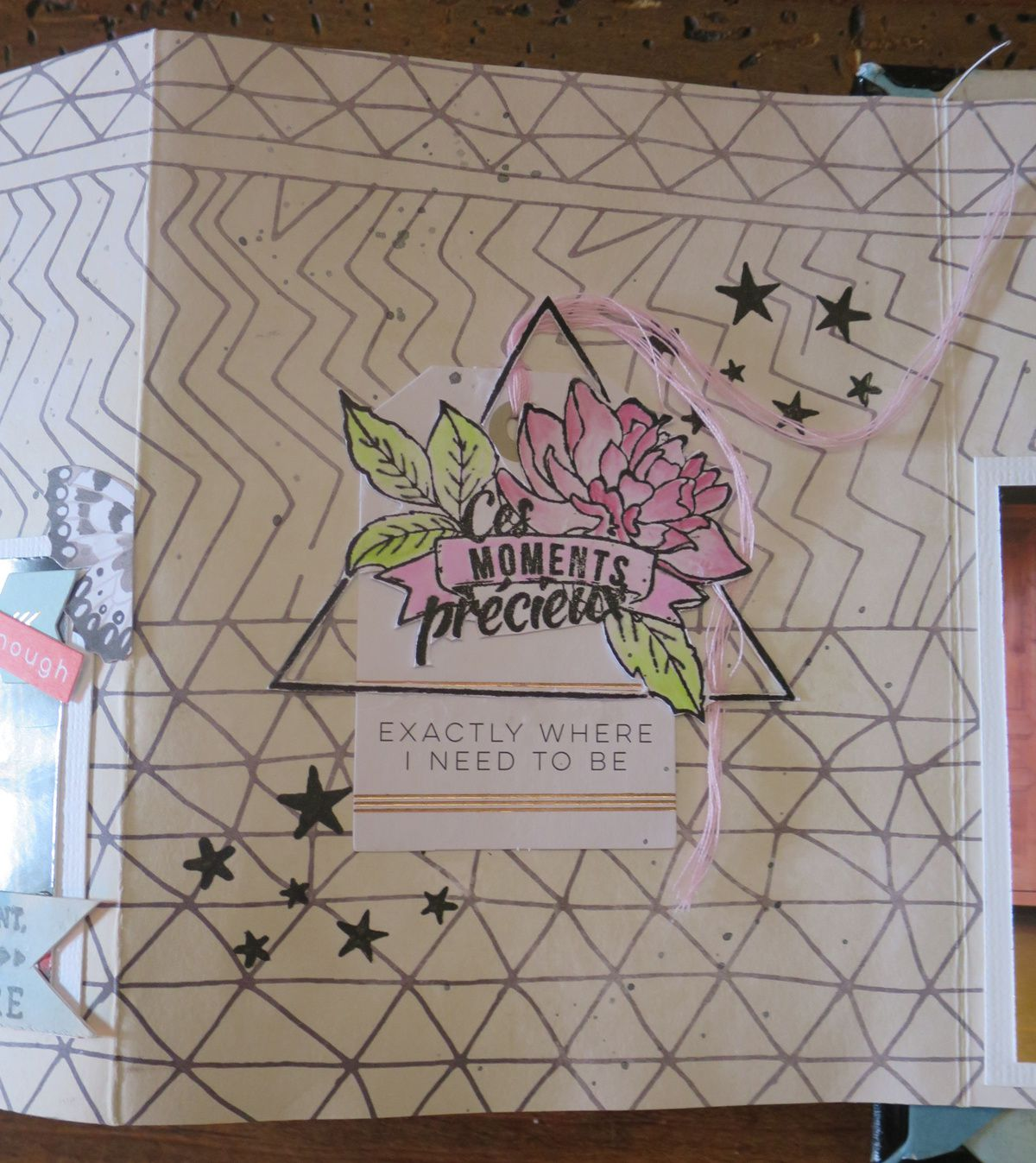 D'après le Kit Mini Album Automne - Karine Kazenave-Tapie