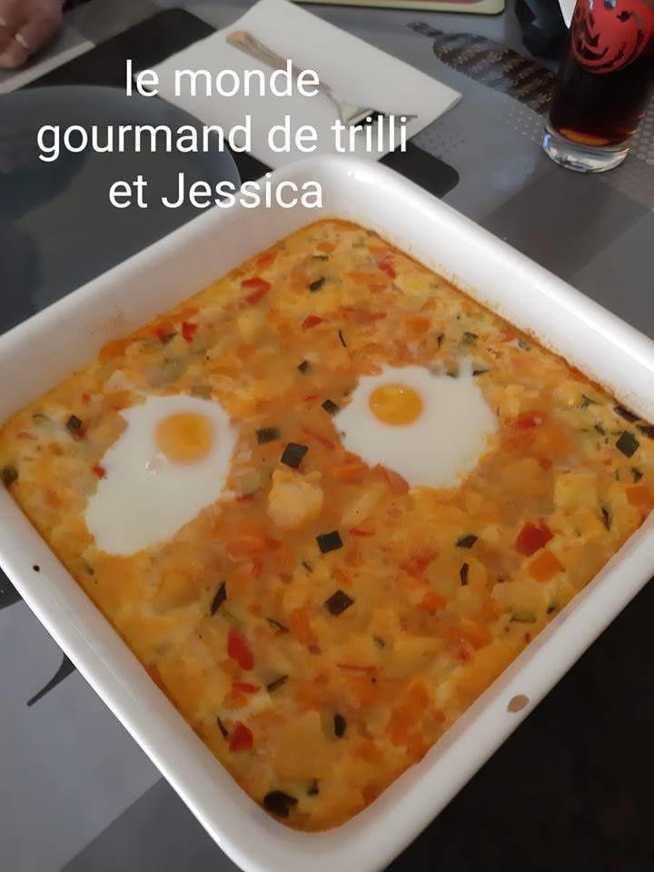 GRATIN DE LEGUMES FACON OEUF COCOTTE