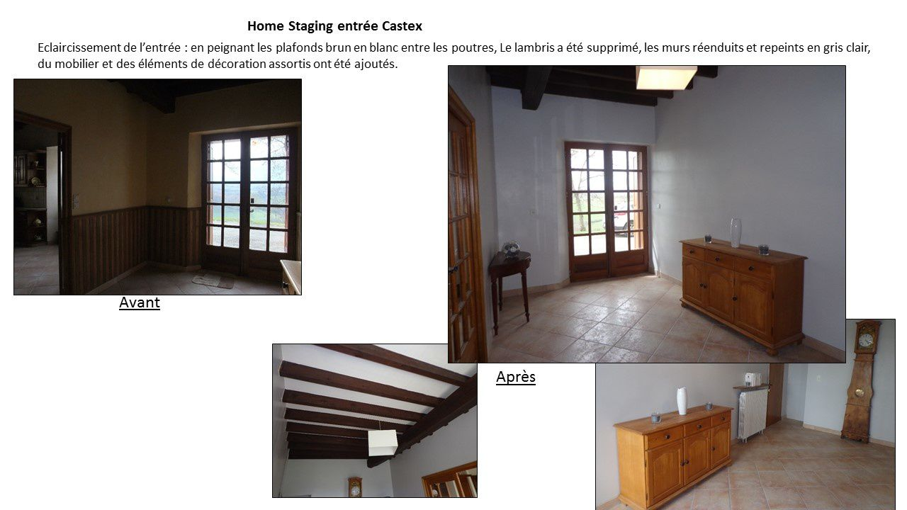Home Staging Photos Avant Après home staging d'une maison de campagne/ home staging for a
