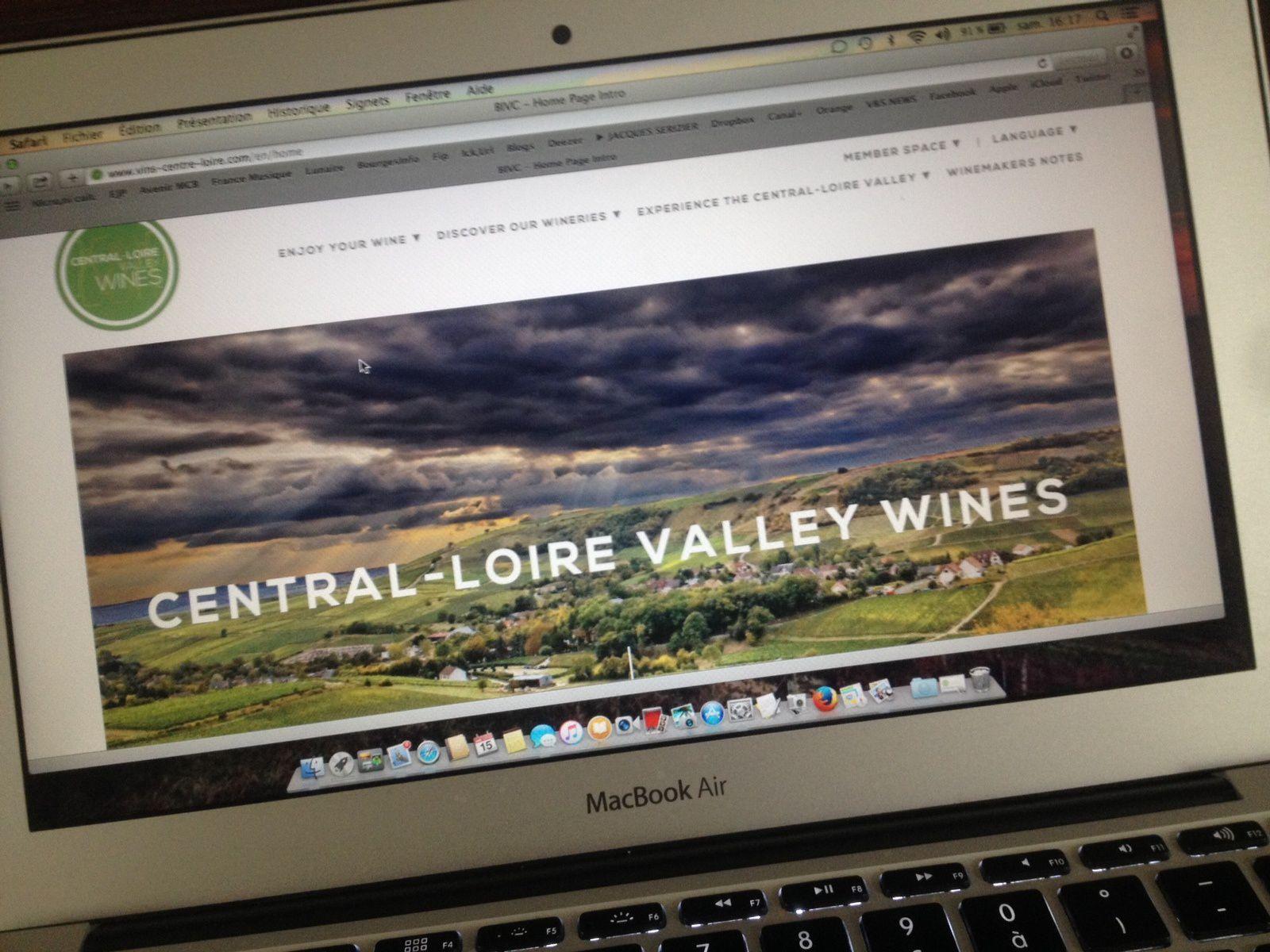 Nouveau logo, nouveau site et Printemps pour les Vins du Centre-Loire