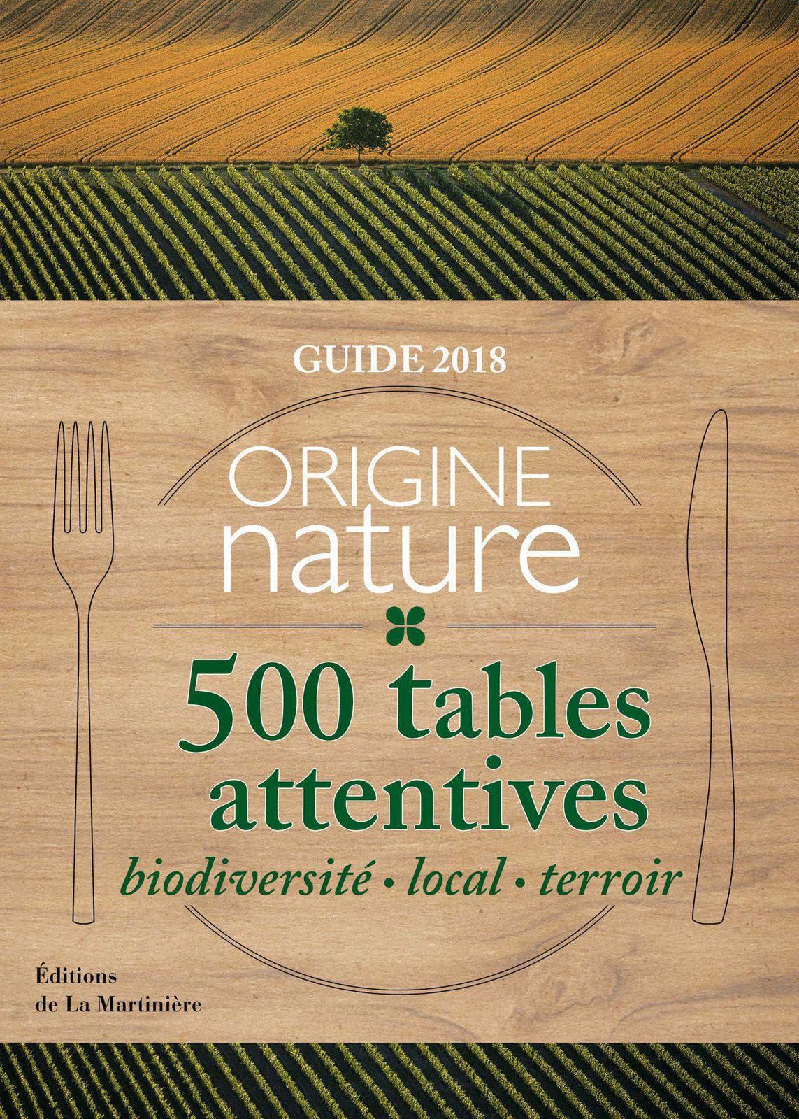Origine Nature, le guide des tables attentives, passe par le Berry ...