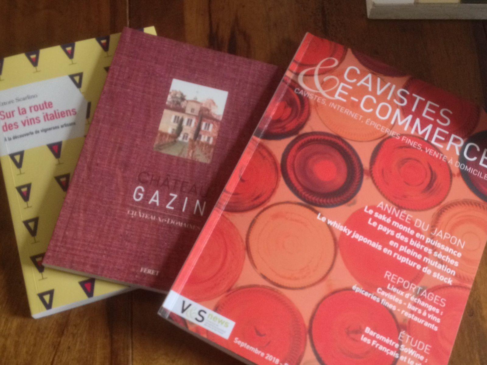 Château Gazin, les vins italiens et des histoires de saké entre les lignes ...