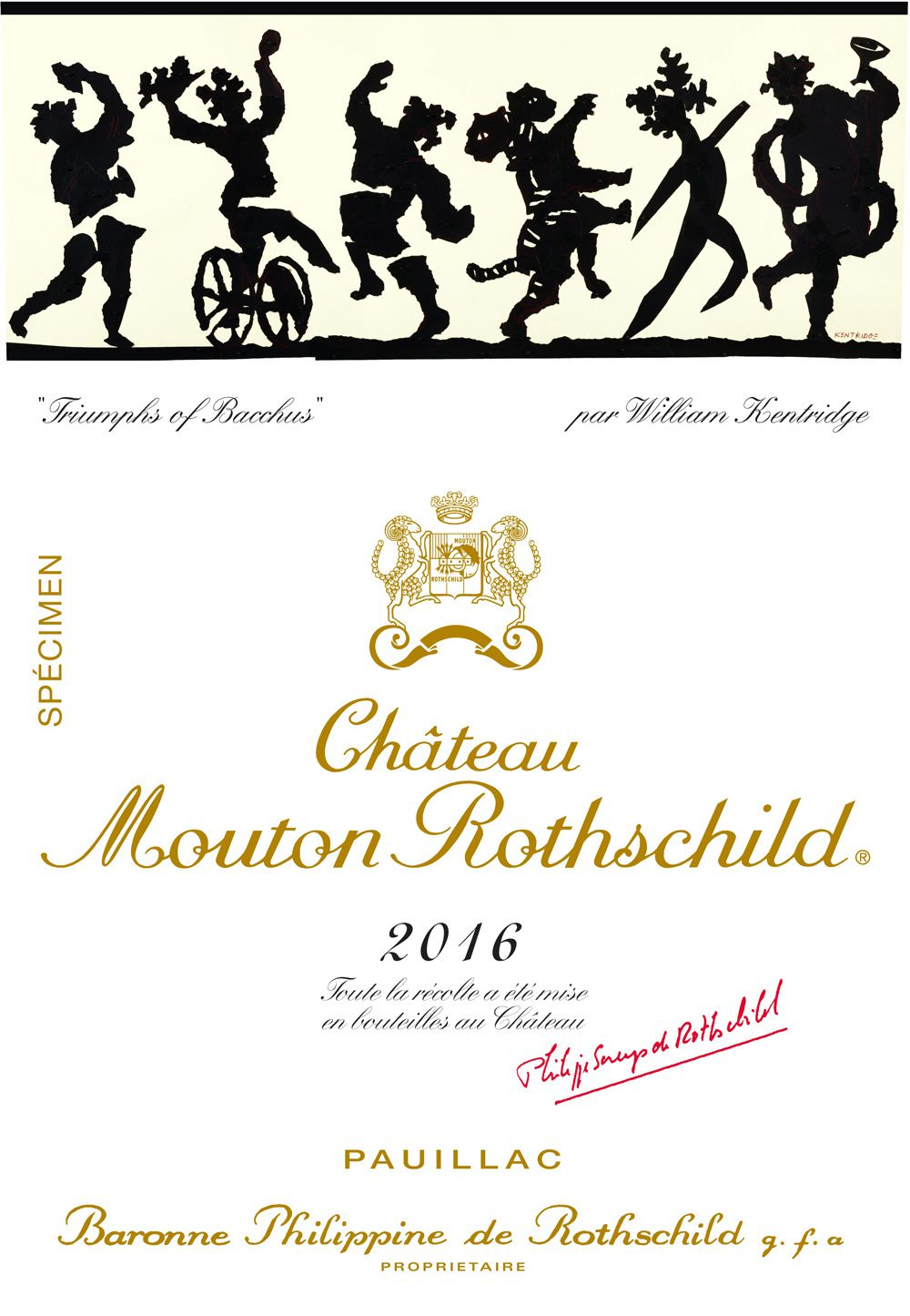 Le Bacchus de Kentridge triomphe à Mouton-Rothschild ...