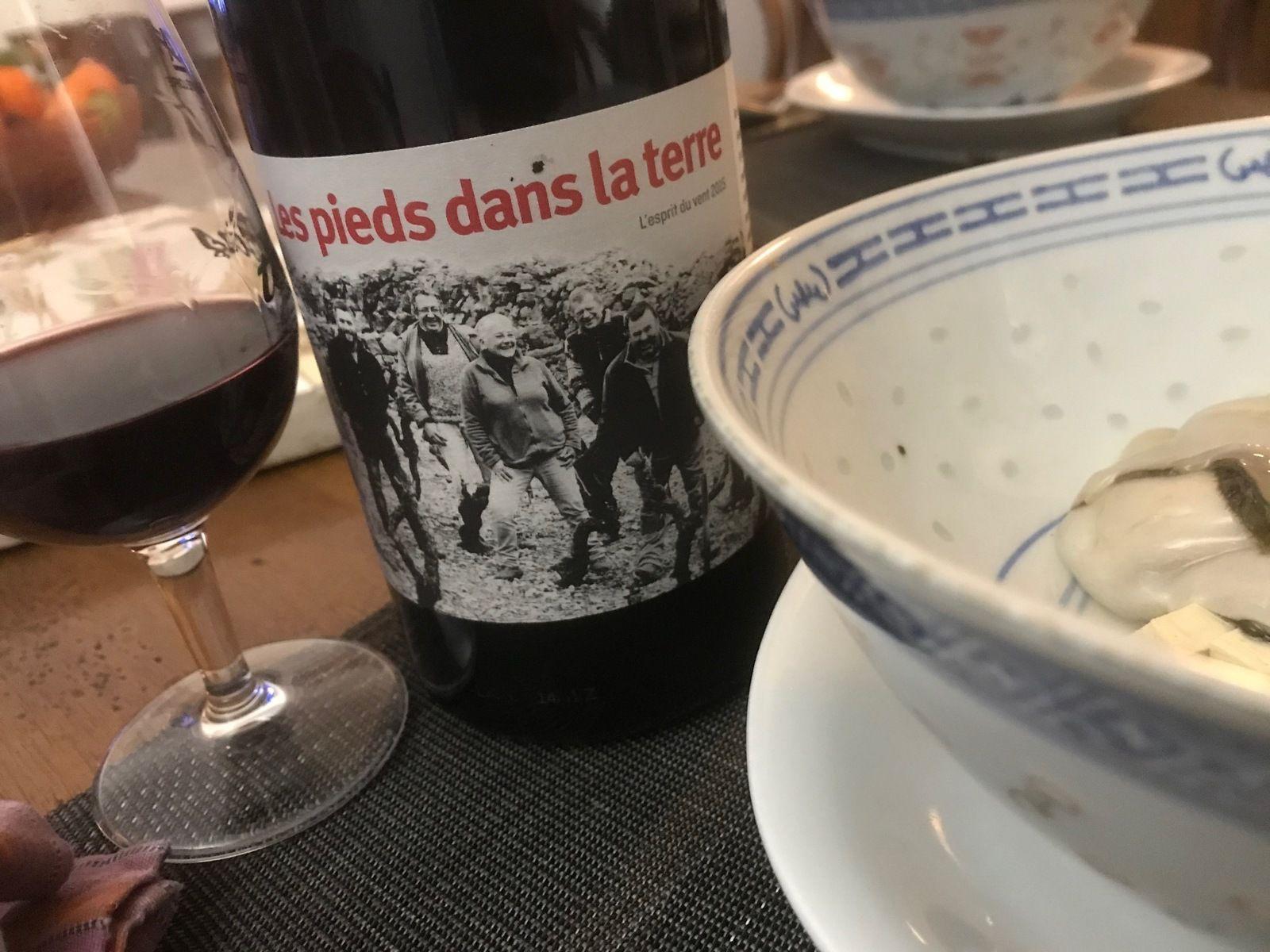 Vendômois, Languedoc, Beaujolais, Loire et Calon ... des petites lampées rouges de plaisir...